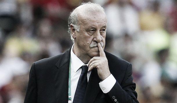 """Vicente Del Bosque: """"Nos ha faltado el gol"""""""