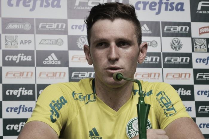 """Após início ruim, Fabiano celebra bom momento no Palmeiras: """"Eu sabia do meu potencial"""""""
