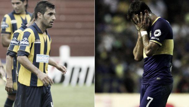 Historial: Rosario Central - Boca Juniors
