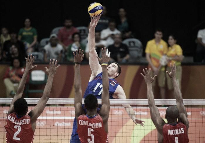 Atual campeã, Rússia bate jovem seleção cubana no vôlei masculino