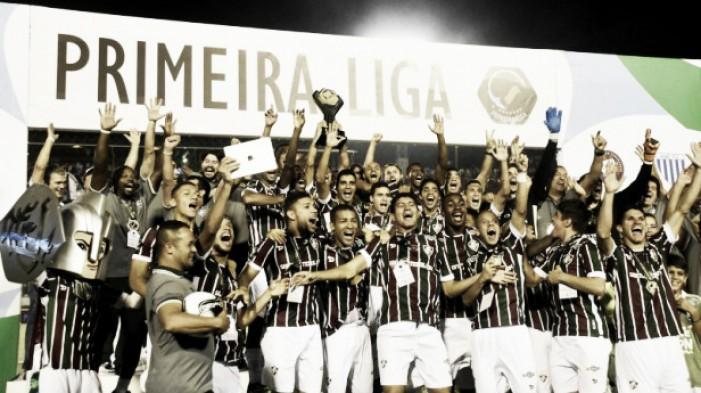 Fluminense vence o Atlético-PR e conquista a Primeira Liga; relembre