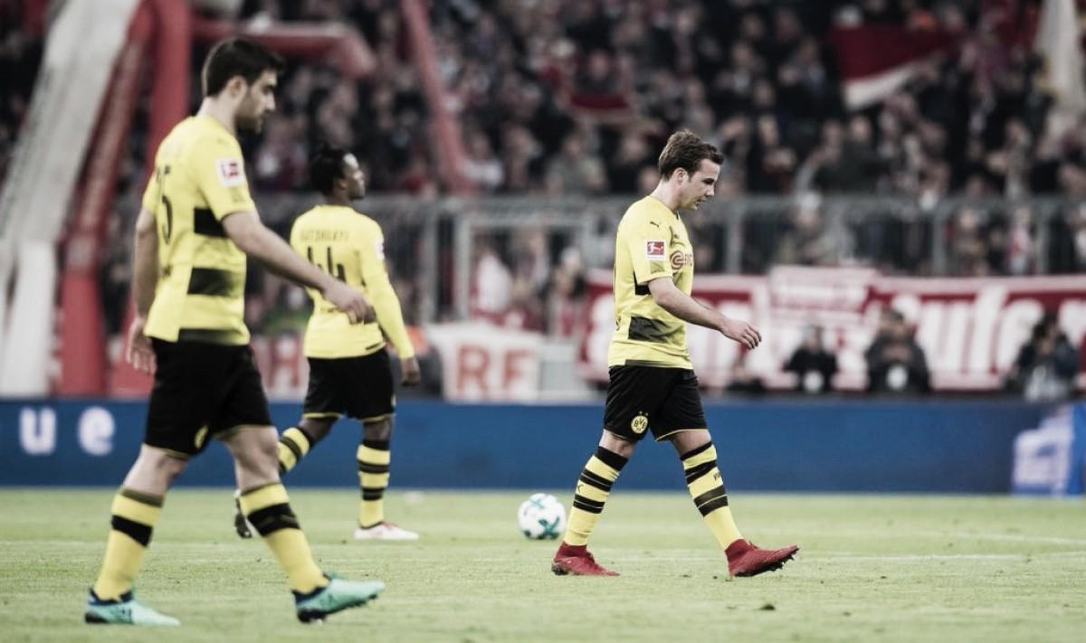"""Peter Stöger mostra insatisfação após goleada sofrida pelo Dortmund: """"Grande decepção"""""""