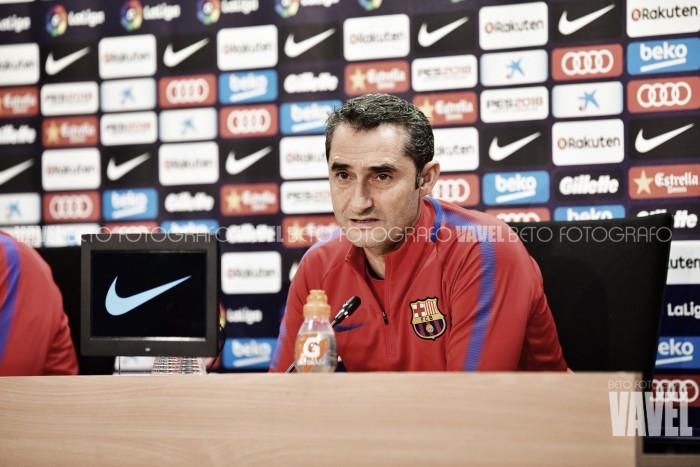 """Valverde: """"Lo que ha hecho Messi es un espectáculo"""""""