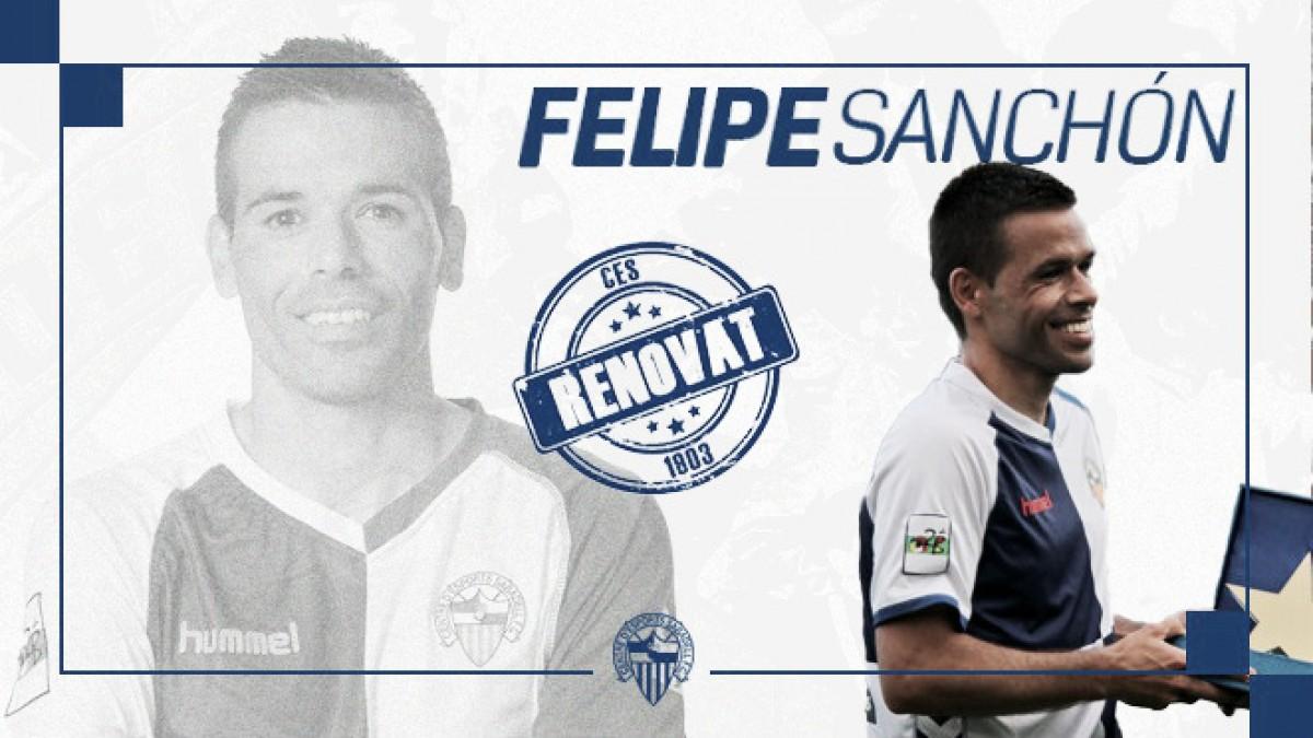 Felipe Sanchón, renovado