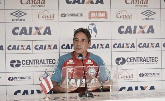 Carpegiani avalia postura diante do Fluminense e convoca torcida para próximo jogo em Salvador