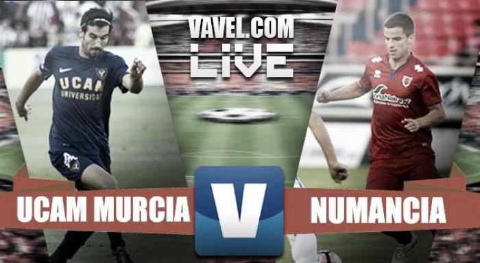 Resumen UCAM Murcia 3-2 Numancia en Segunda 2016