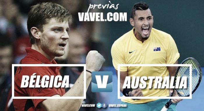 Copa Davis 2017. Previa Bélgica - Australia: gran igualdad en la lucha por la final