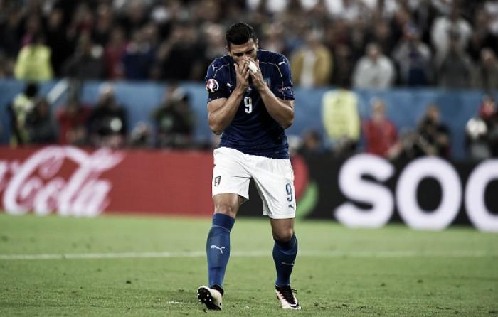 "Graziano Pellè lamenta pênalti perdido diante da Alemanha: ""Peço desculpa aos italianos"""