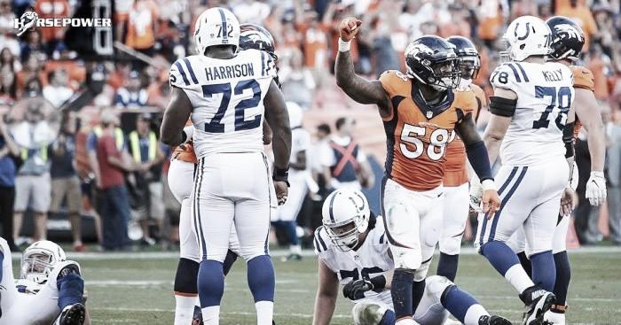Defesa domina novamente e Broncos consegue vitória contra Colts em casa