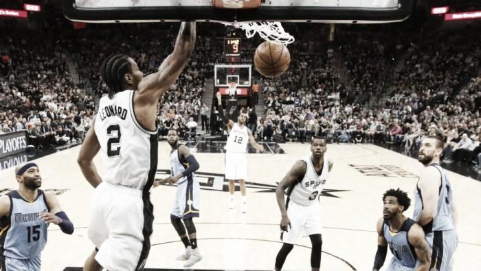 NBA playoffs, San Antonio regola i Grizzlies anche in gara-2 (96-82)