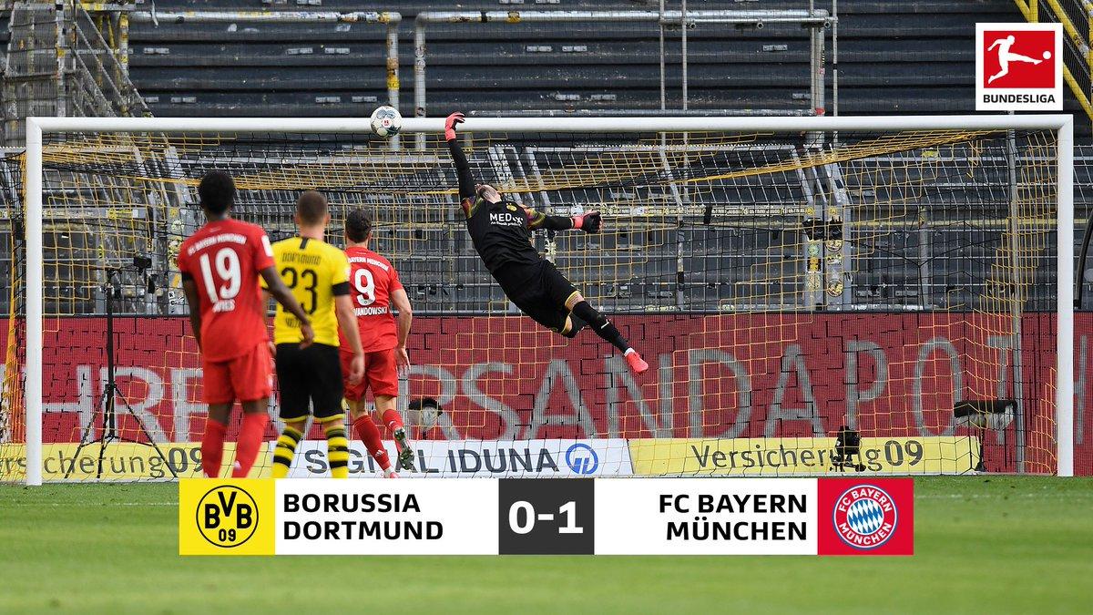 Il Klassiker è bavarese: 1-0 Bayern sul Dortmund