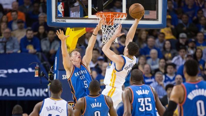NBA - E' sempre Golden State contro Oklahoma: Durant alza ancora bandiera bianca (121-106)