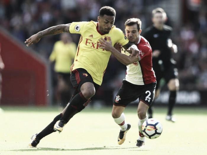 Com gol em cada etapa, Watford bate Southampton e entra no G-4 da Premier League