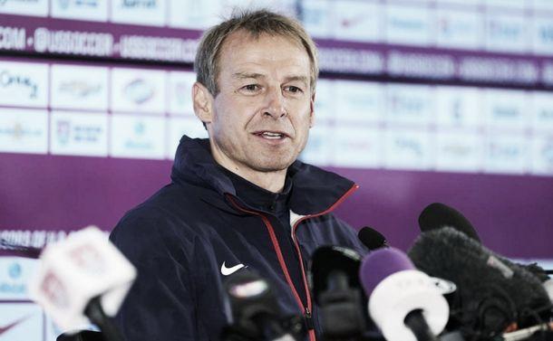 """Jürgen Klinsmann: """"Nossa meta é estrear com o pé direito"""""""