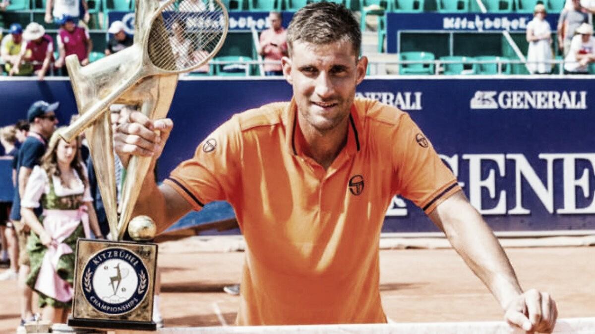 Klizan venció a Istomin y es el nuevo campeón del ATP de Kitzbuhel