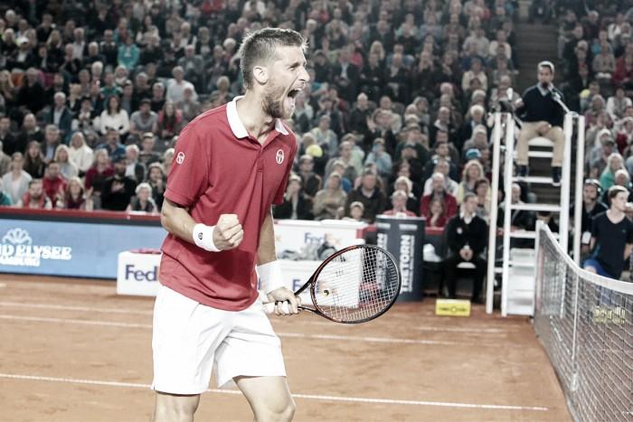 Martin Klizan supera Pablo Cuevas e é campeão do ATP 500 de Hamburgo