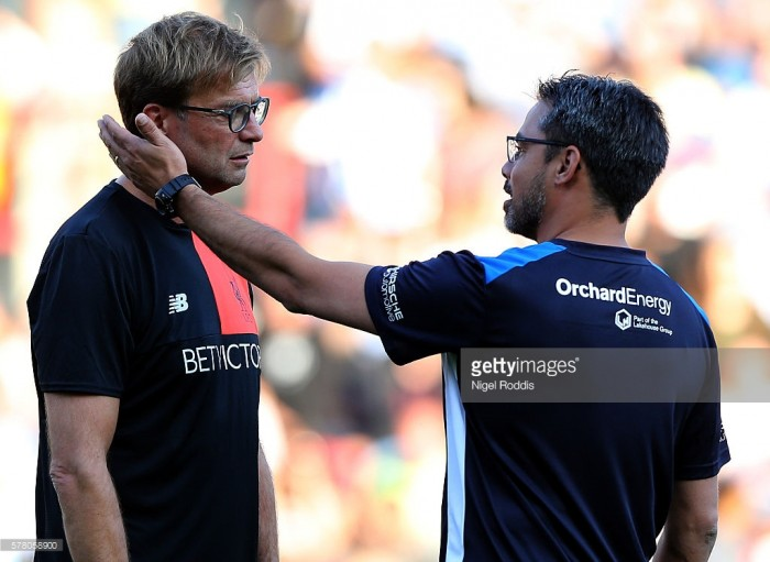 Jurgen Klopp admits that he cried when Huddersfield Town secured promotion