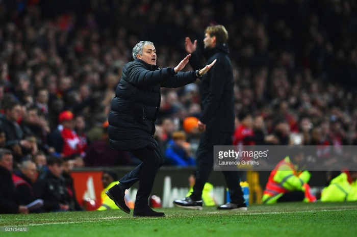 Mourinho tells media to ask Klopp once more about Pogba comments