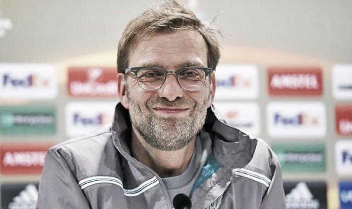 Jürgen Klopp offers thoughts ahead of Augsburg tie