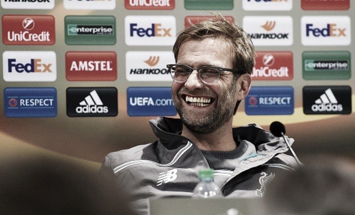 Europa League is Liverpool's best chance of Champions League football next season, admits Klopp