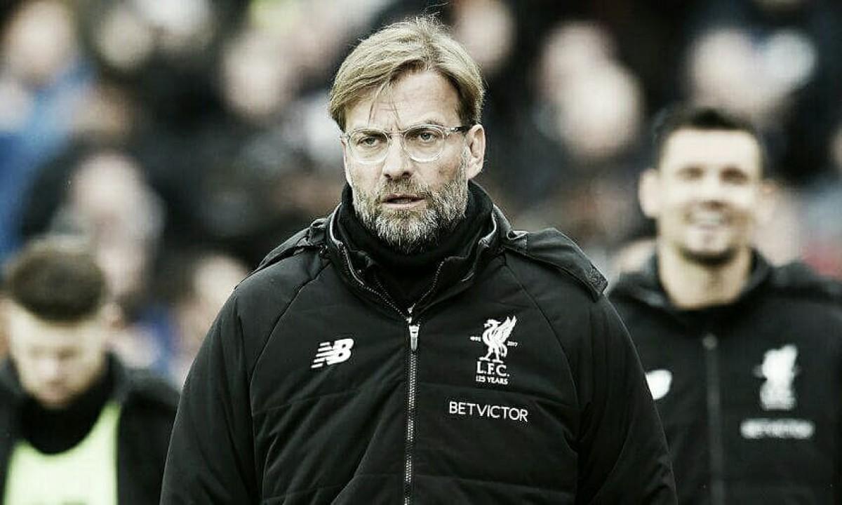 Klopp elogia intensidade do Liverpool em vitória sobre Crystal Palace