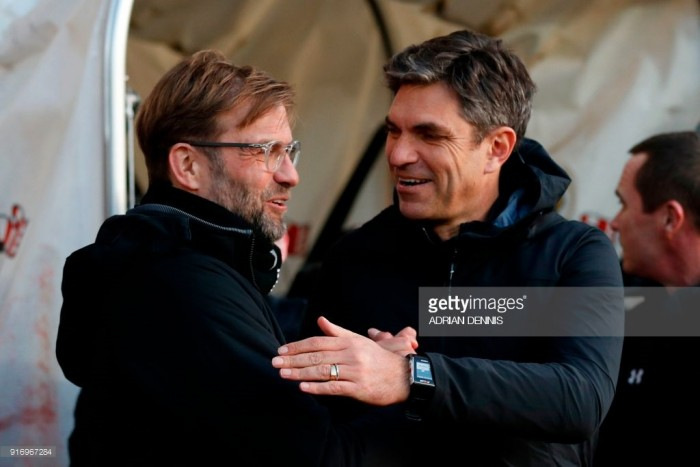 "Liverpool manager Jürgen Klopp: ""That's how an away game should be"""