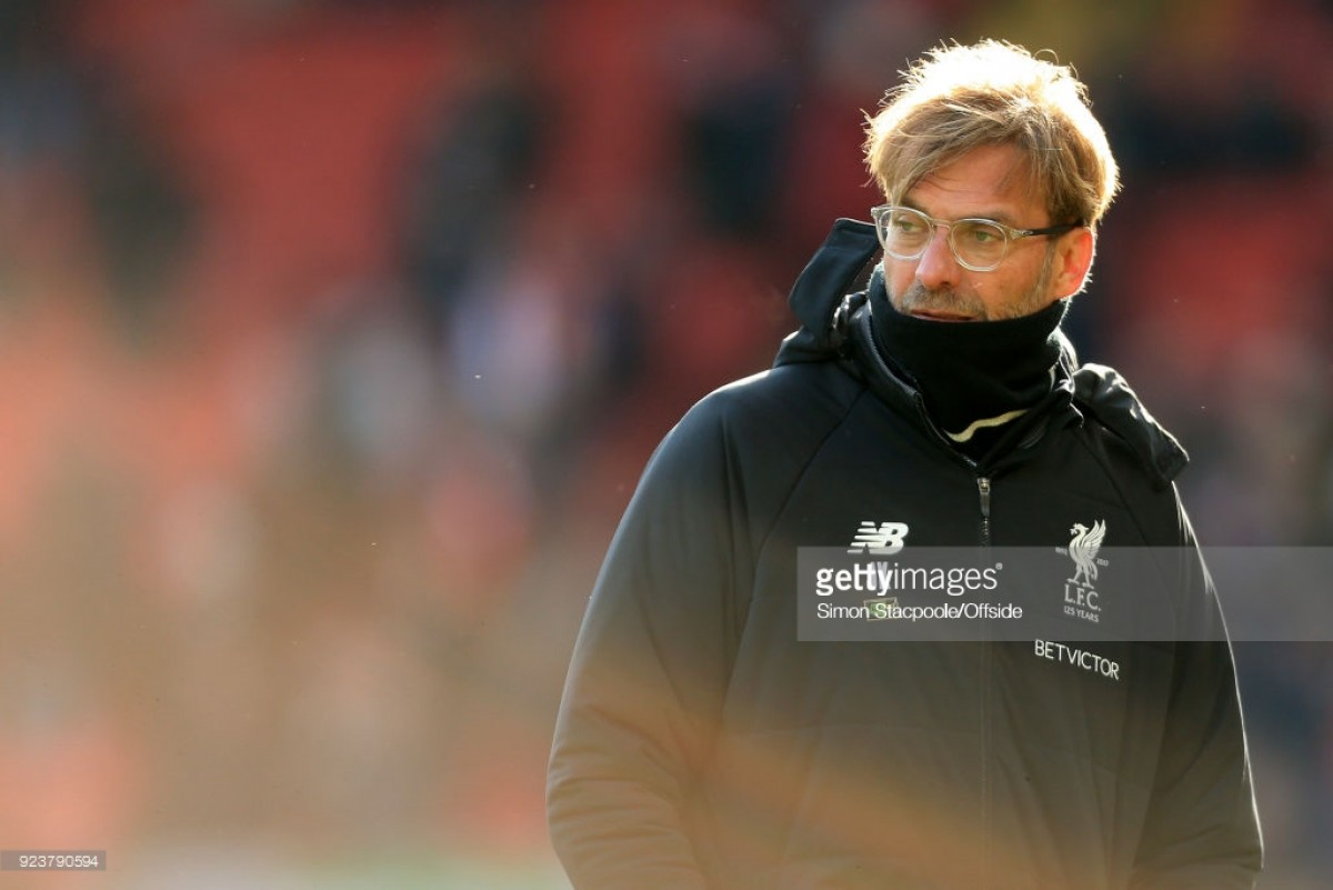 Liverpool manager Jürgen Klopp amongst those nominated for PL manager of the month award