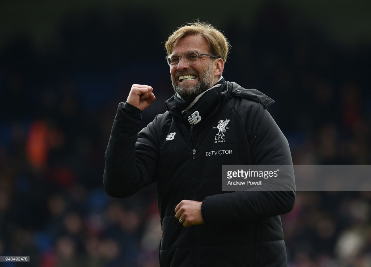 Jürgen Klopp praises Liverpool's 'dirty win' against Crystal Palace
