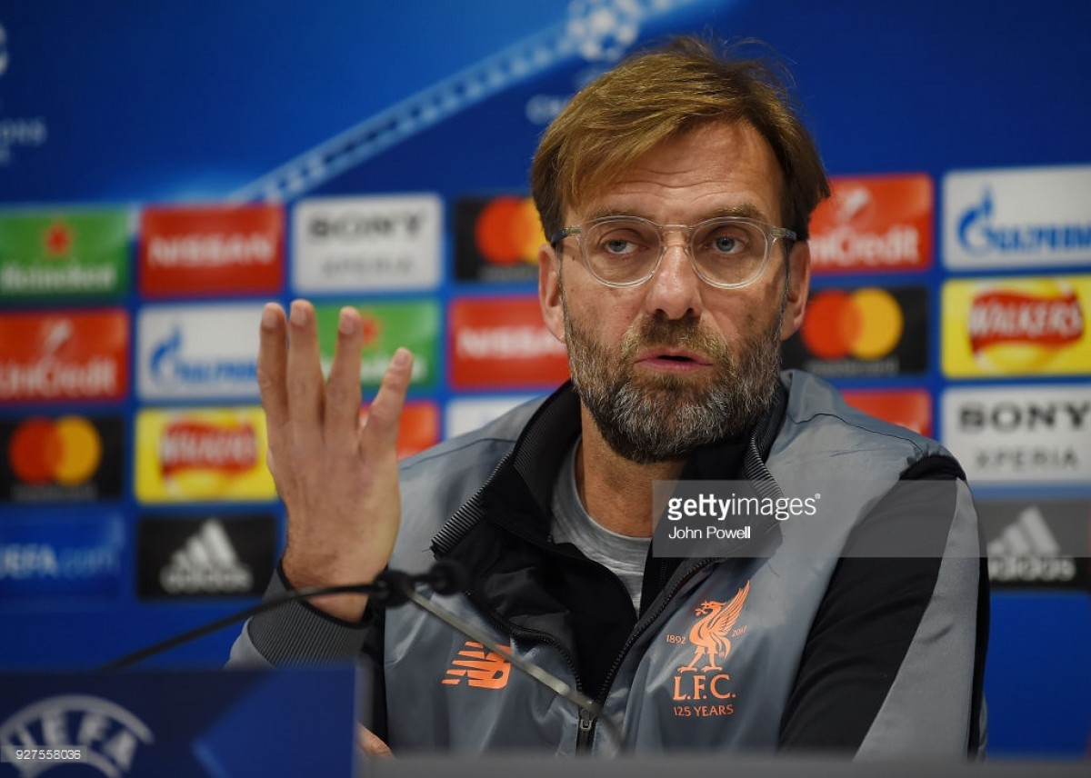Jürgen Klopp dismisses reports that he will 'rest' players against FC Porto