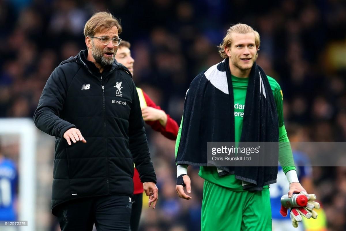 Jurgen Klopp praises Loris Karius after positive derby performance