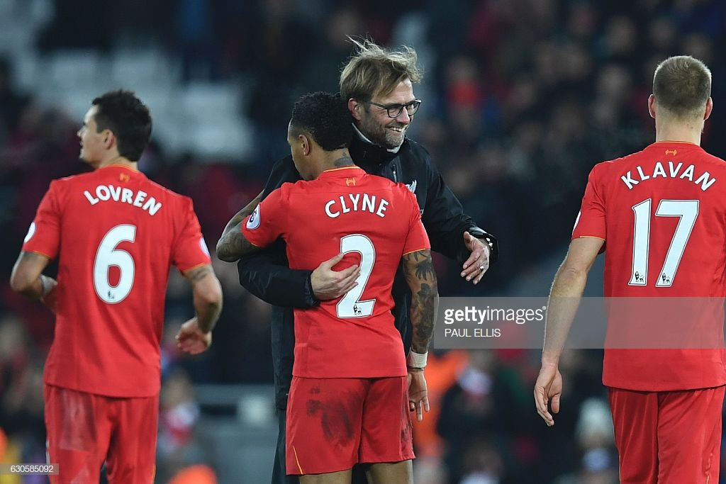 Nathaniel Clyne's return makes Liverpool 'comfortable' at right-back says manager Jürgen Klopp