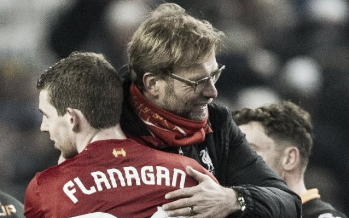 "Jurgen Klopp says it's a ""good moment"" for Flanagan to return"