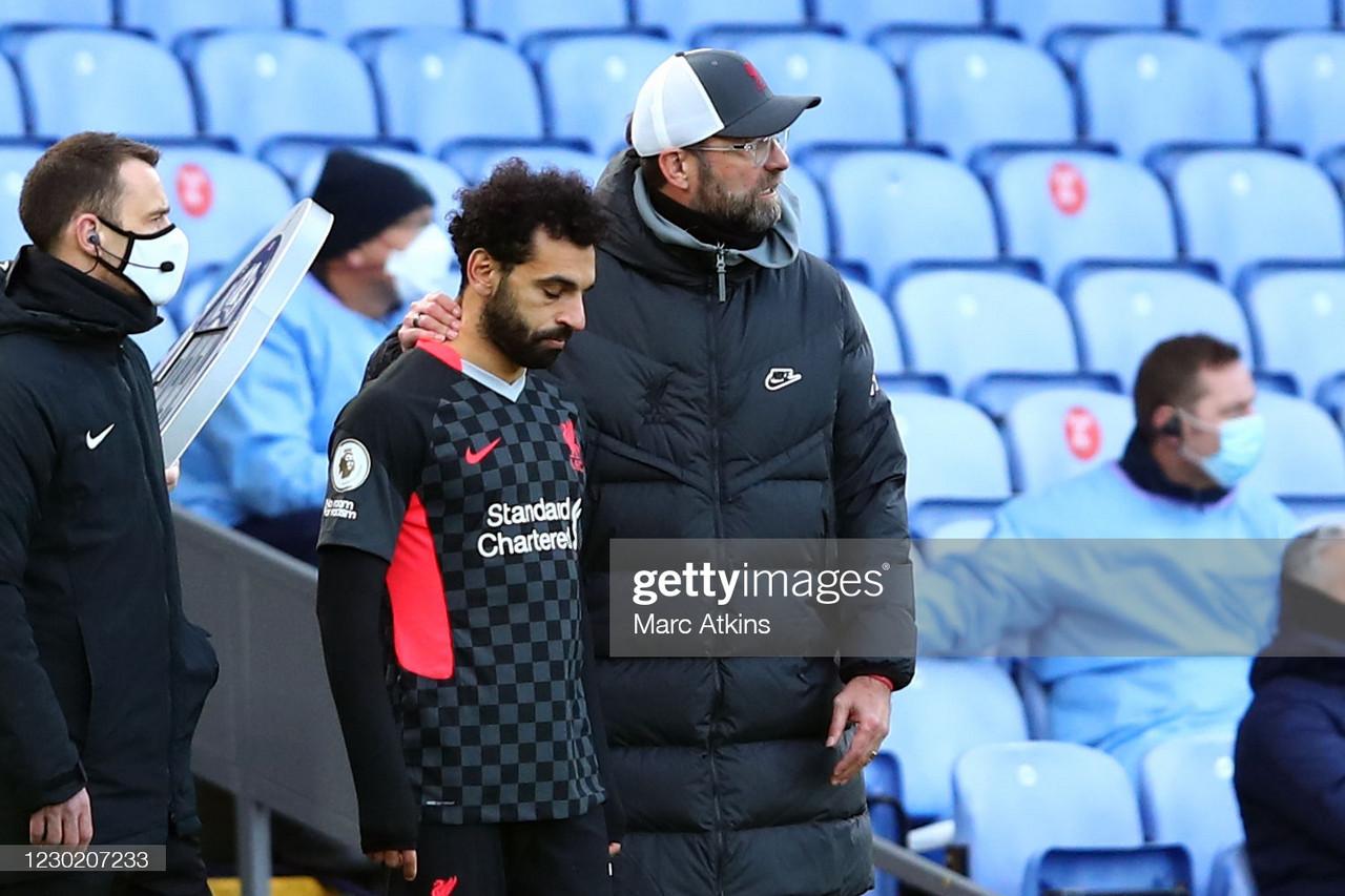 'There are talks' - Jurgen Klopp provides update on Mohamed Salah's future