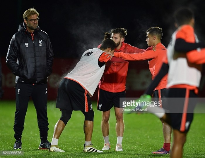 Jürgen Klopp given selection headache as Liverpool boss has near-full squad at his disposal for Watford meeting