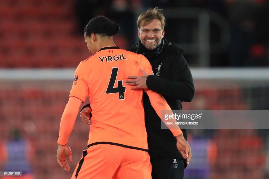 """Liverpool manager Jürgen Klopp: """"That's how an away game should be"""""""