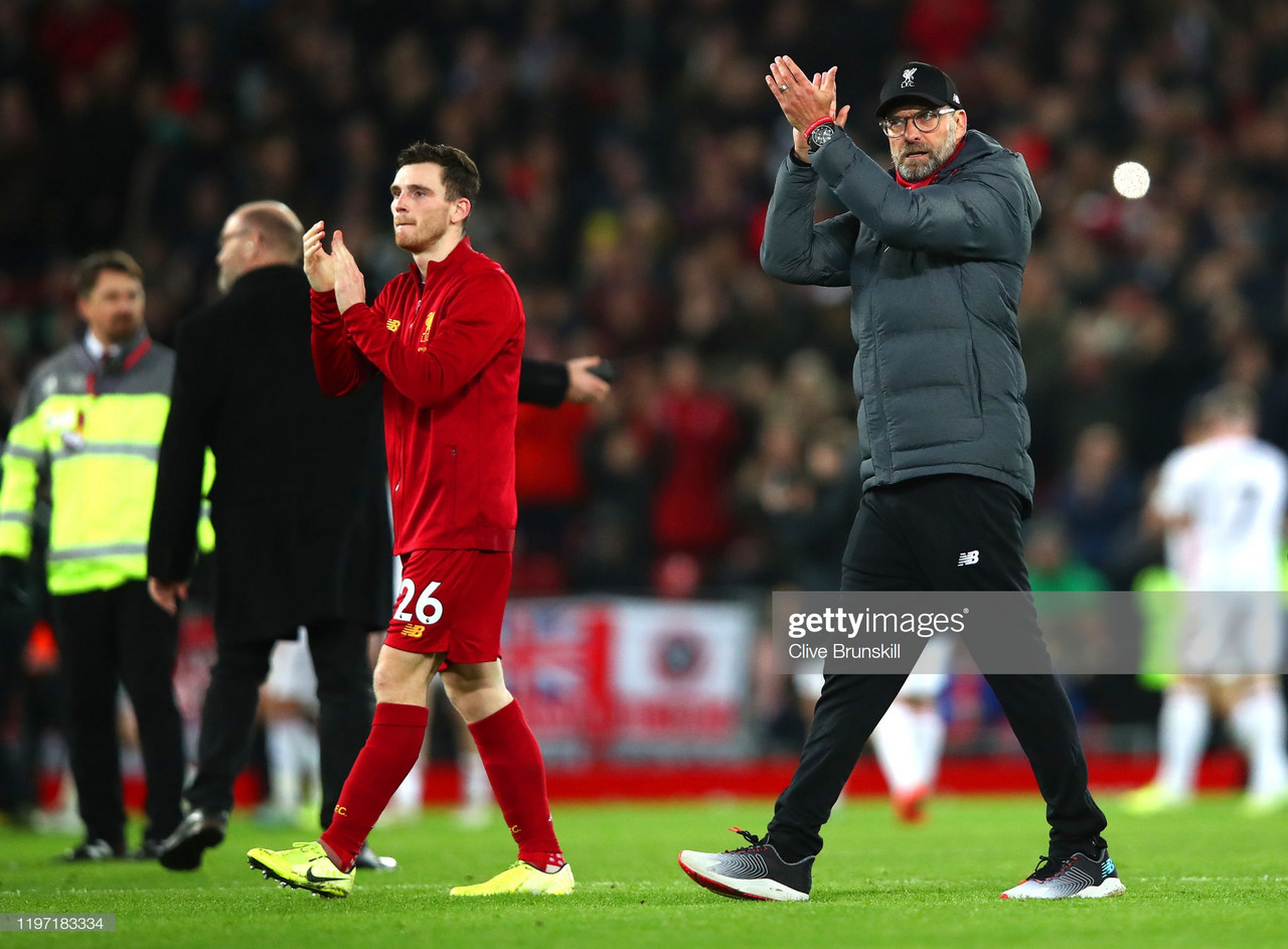 Jurgen Klopp reflects on his sides 2-0 win over Sheffield United