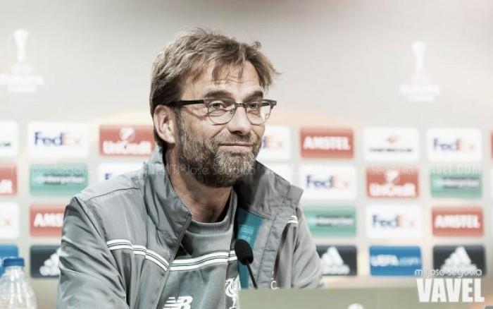"""Europa League, Klopp: """"Siamo pronti, i ragazzi vogliono dimostrare chi sono"""""""