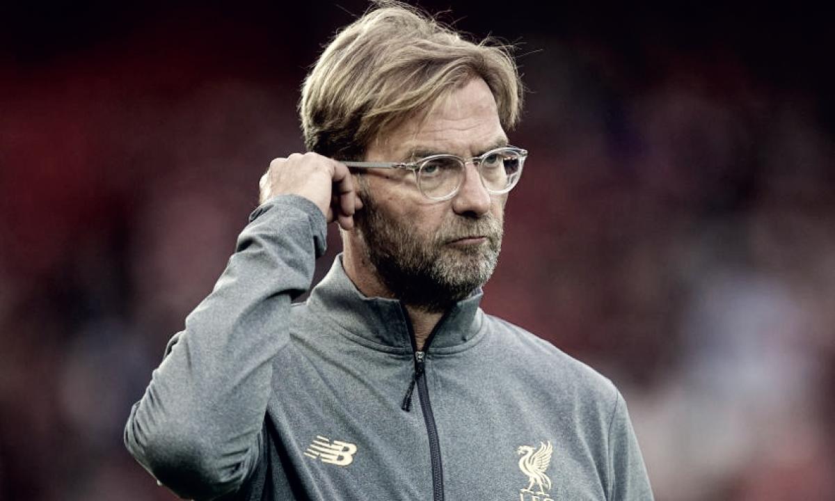 """Klopp exalta invencibilidade do Liverpool, mas evita empolgação: """"Temos muito trabalho a fazer"""""""
