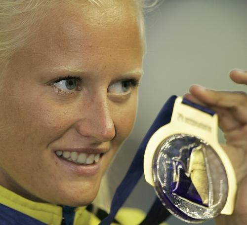 Carolina Klüft, desmotivada, se retira a los 29 años