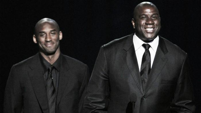 Nba, Magic Johnson cerca di(ri)prendersi i Lakers e chiama Kobe