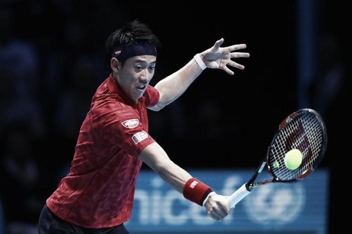 Atp Finals, Nishikori sorprende Wawrinka all'esordio