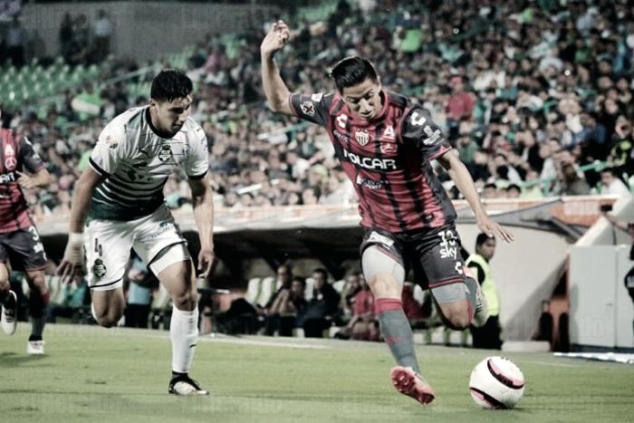Santos 2-0 Necaxa: puntuaciones de Necaxa en los Octavos de Copa MX Apertura 2017