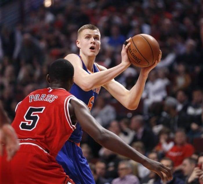 Kristaps Porzingis Ties Career High 29 Points To Lead New York Knicks Over Chicago Bulls