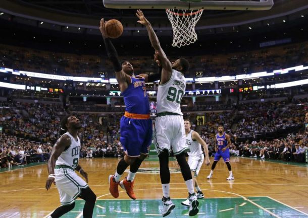 New York Knicks Drop Preseason Finale To Boston Celtics