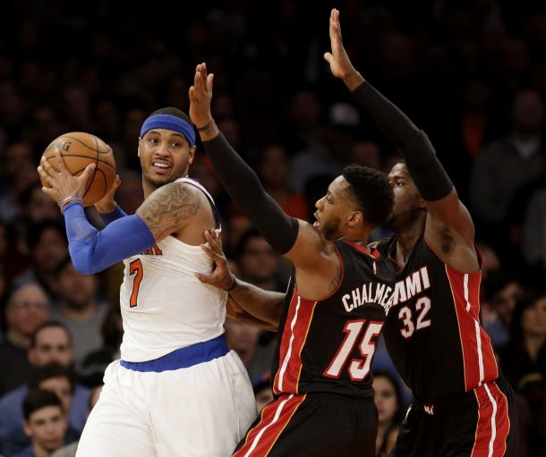 Preview: New York Knicks Travel to Miami To Take On Chris Bosh And The Heat