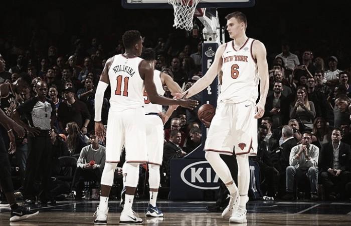 Knicks derrotan a Hornets