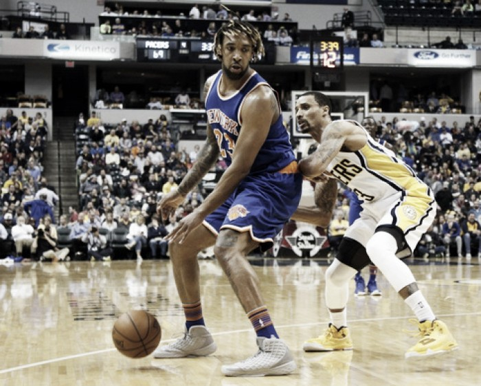 New York Knicks close out season with loss against Indiana Pacers