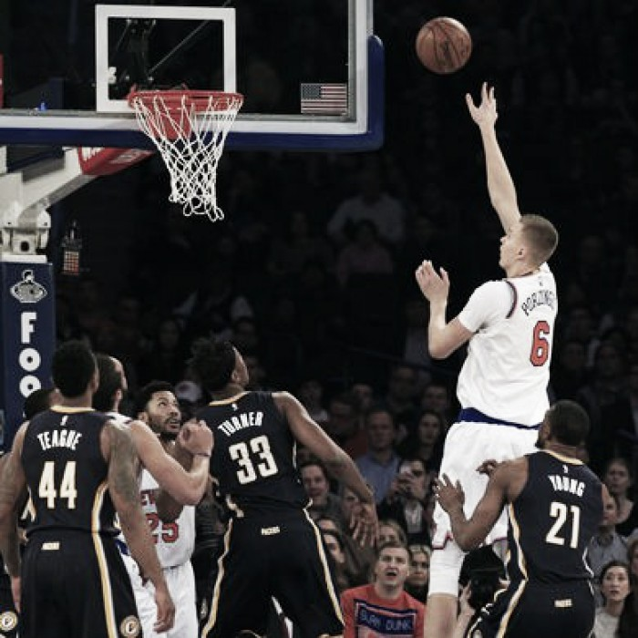 New York Knicks display largest comeback of season to defeat Indiana Pacers, 118-111