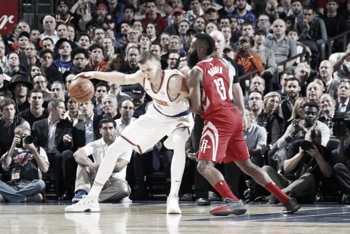 Rockets le corta la buena racha a Knicks