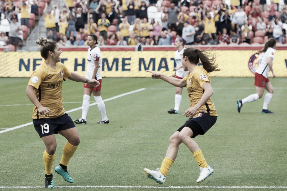 Utah Royals FC pick up first ever win against the Washington Spirit